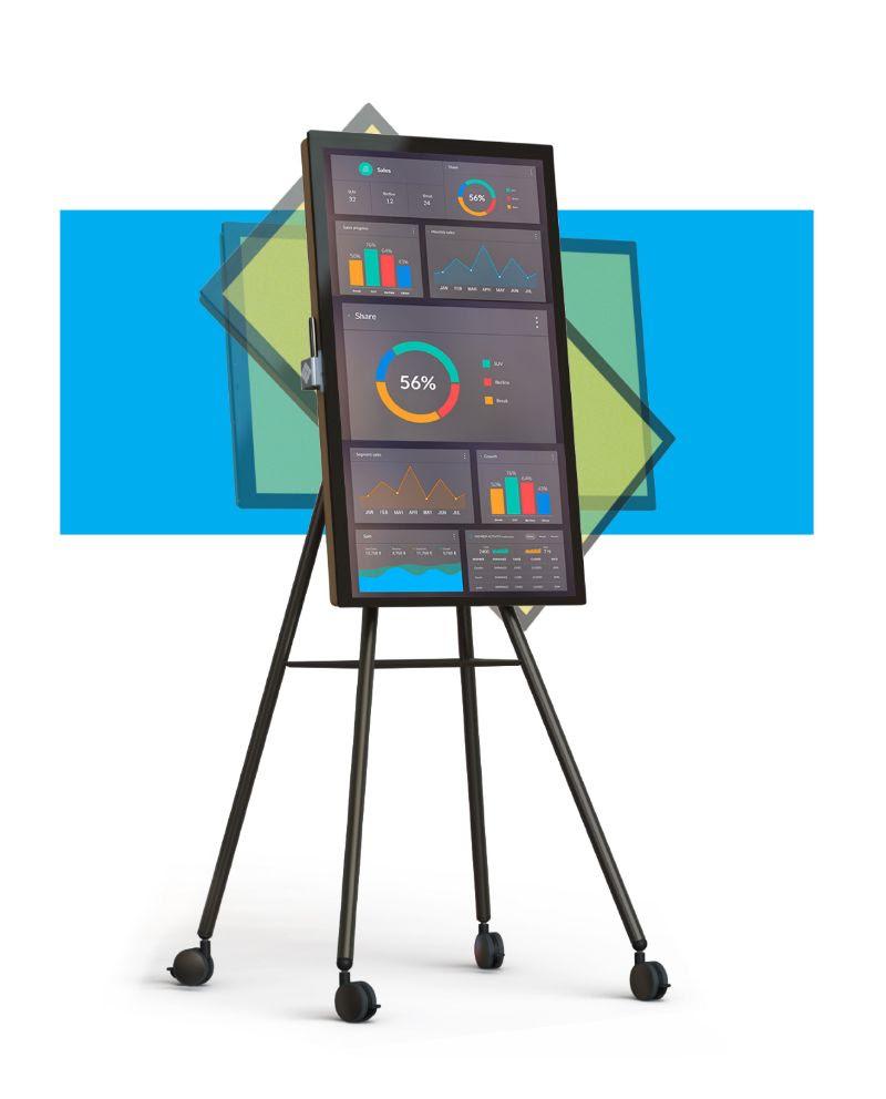 i3SIXTY mobil digitális flipchart