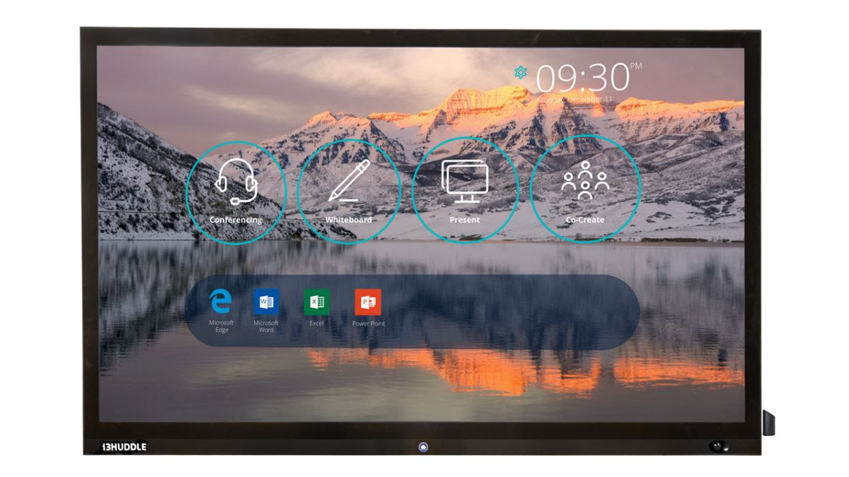 i3HUDDLE 4K-s interaktív display